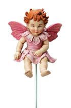 Flower Fairy mit Stab Apfelblütenbaby