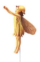 Flower Fairy mit Stab Haselnuss