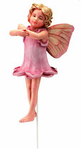 Flower Fairy mit Stab Rose