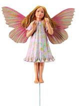 Flower Fairy mit Stab Schafgarbe