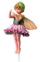 Flower Fairy mit Stab Mohnblüte