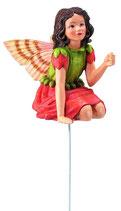 Flower Fairy mit Stab Geranie