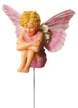 Flower Fairy mit Stab Schleifenblume