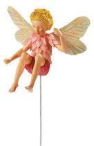 Flower Fairy mit Stab Lärche