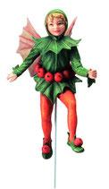 Flower Fairy mit Stab Stechpalme
