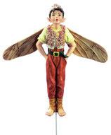 Flower Fairy mit Stab Spitzwegerich