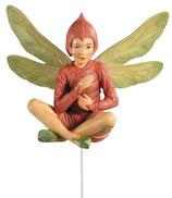 Flower Fairy mit Stab Aronstabblüte