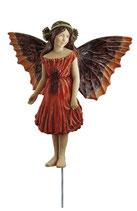 Flower Fairy mit Stab Mohnblume