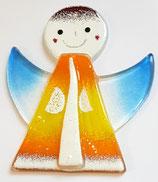Glas Engel zum hängen Höhe ca. 8 cm Breite ca. 7 cm in verschiedene Farben