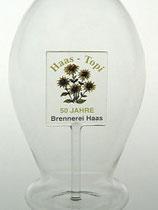 mundgeblasene Glaskaraffe 0,5 L. mit Ihrem Logo, ab 50 Stück lieferbar