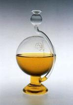 Goethe Barometer mit einer Wetterskala zum aufstellen klar 115x200 mm