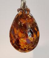 Glasei zum hängen, bunte Farben mundgeblasen, Höhe  ca. 5-6 cm cm verschiedene Farben