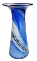 Vase gerade Form mundgeblasen Höhe ca. 29 cm in verschiedenen Farben