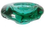 Aschenbecher Durchmesser ca 11 cm grün oder blau