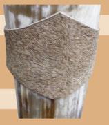 Gürtel - Hornhalter aus Fell