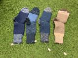 Socken Blau / Hellgrau, mehrfarbig