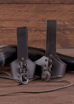 Gürtel - Hornhalter aus Leder