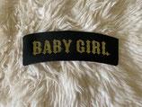 Baby Girl Rocker Patch