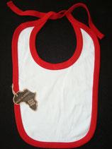 Lätzchen rot-weiss