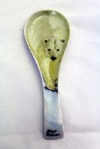Posacucchiaio orso  cm 20 x 7