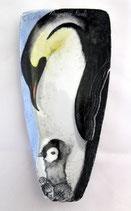 Posa cucchiaio vela pinguini cm 17 x 8