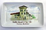 Vassoietto castello colorato cm 14 x 8,5