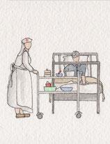infirmière et blessé de 1914 (2)