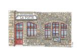 Bureau de poste  MONT-SAINT-MICHEL (50)