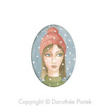 Femme au bonnet rouge