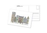 Maisons à colombages, rue du Gros Horloge, Rouen
