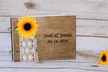 Sonnenblume Buch A5