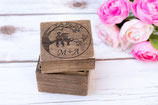Wedding tree Wooden Box Square