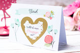 Be my Bridesmaid Proposal Card - Mint
