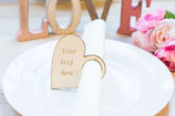 Table Decor Napkin Ring Wedding Favor Place