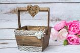 Hochzeitskörbchen Alternative Ringkissen