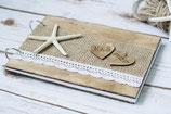Maritime Hochzeit Holz Buch