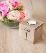 Tischnummer zur Hochzeits Tischdeko