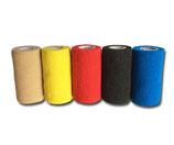 Bunter Farb-Mix 5er Set LisaCare Pflasterverband 10cm Breite x 4,5m Länge