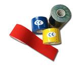 Bunter 5er Farb-Mix Kinesiologie Tape LisaCare 5cm v1