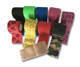 LisaCare - 5cm x 4,5m - 5 Rollen - diverse Farben & Motive