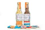 Chocolaatjes met musketzaad Koningsdag
