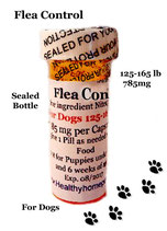 Flea Control Lufenuron 6 month supply for Dogs 125-165 lb + 1 Free Flea Killer