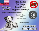 100 Flea Killer Capsules Bulk Sale for Dogs 26-60lb