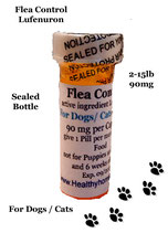 Flea Control Lufenuron 3 /6/9/12/18 month supply for Dogs and Cats 2-15 lb + 1 Free Flea Killer