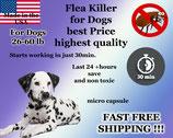 100 Capsules of Flea Killer Nitenpyram 26-60 lb for Dogs super sale Promotion 35mg