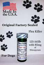 Flea Killer  Nitenpyram 50 month supply for Dogs 125-165 lb + 1 Free Flea Killer