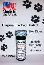 Bulk 100 flea killer 26-60 lb and 35 mg of Nitenpyram