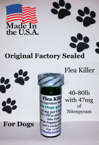 Flea Killer  Nitenpyram 25 month supply for Dogs 40-80 lb + 1 Free Flea Killer