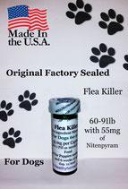 Bulk 100 flea killer 60-91 lb and 55 mg of Nitenpyram