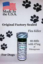 Bulk 100 flea killer 40-80 lb and 47 mg of Nitenpyram